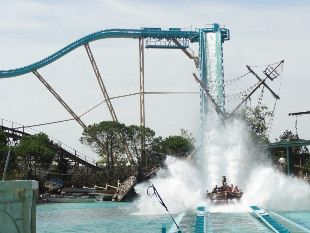manège Atlantica SuperSplash Europa Park