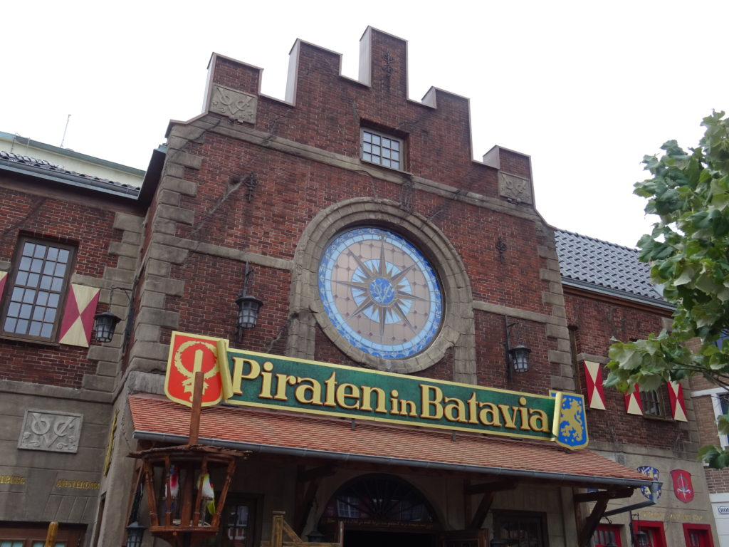 manège Piraten in Batavia Europa Park
